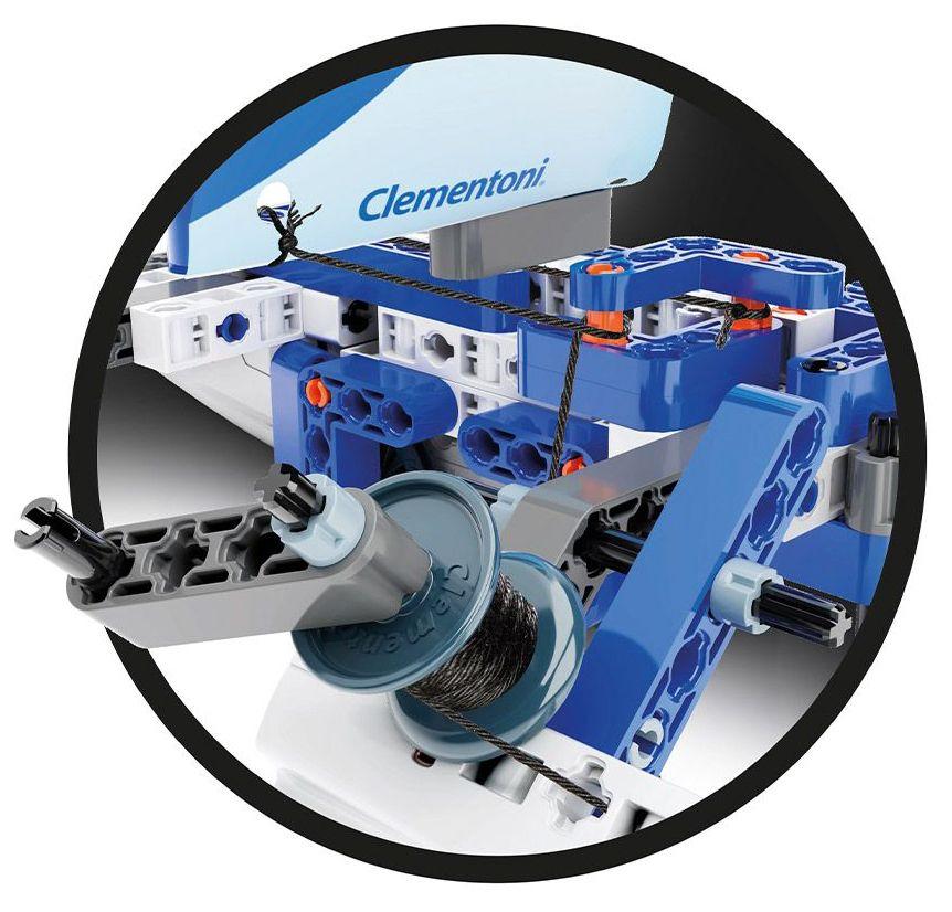 Конструктор Clementoni Mechanics Laboratory - Лодка, 130 части - 5