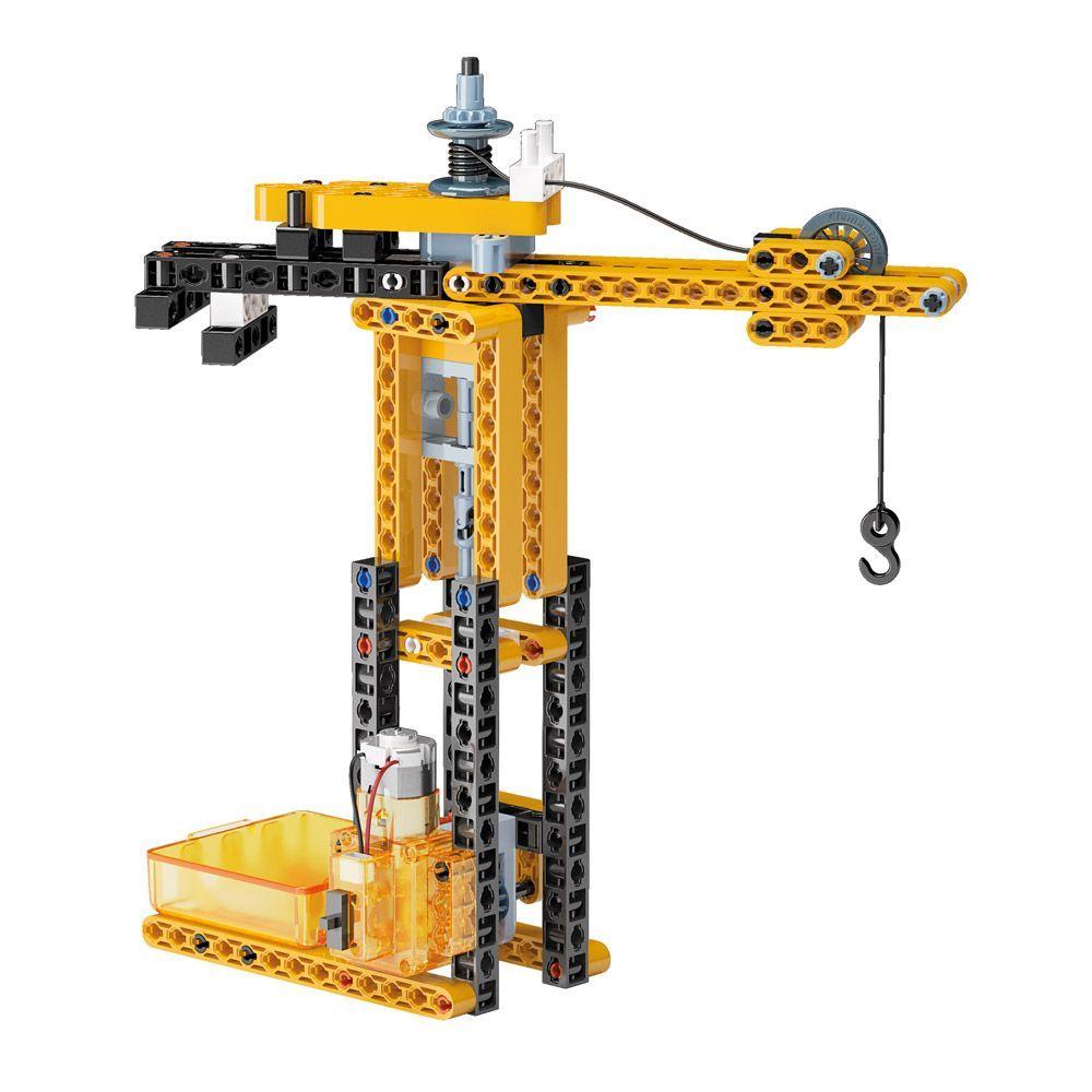 Конструктор Clementoni Mechanics Laboratory - Строителни машини, 250 части - 5