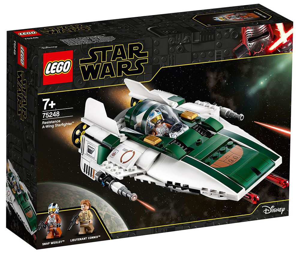 Конструктор Lego Star Wars - Resistance A-wing Starfighter (75248) - 1