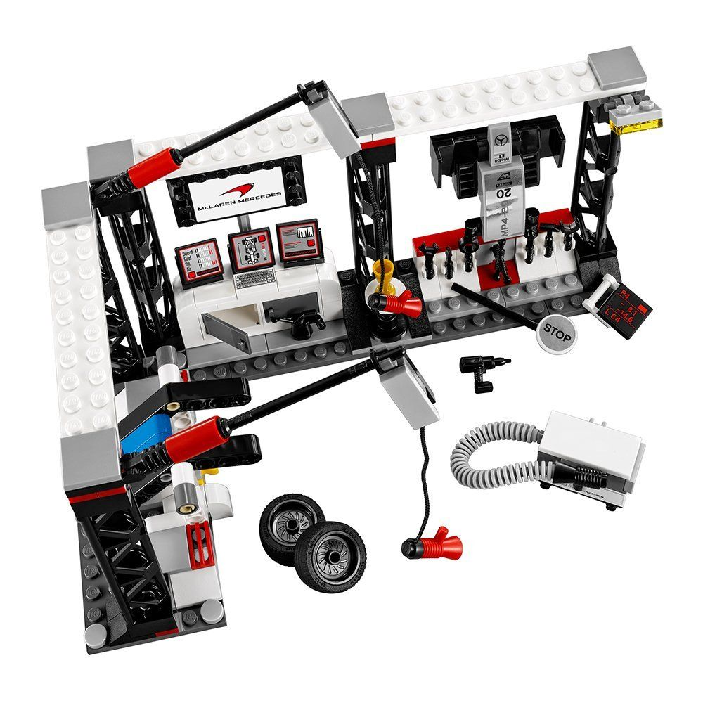 Конструктор Lego Speed - Пит-стоп на McLaren Mercedes (75911) - 7