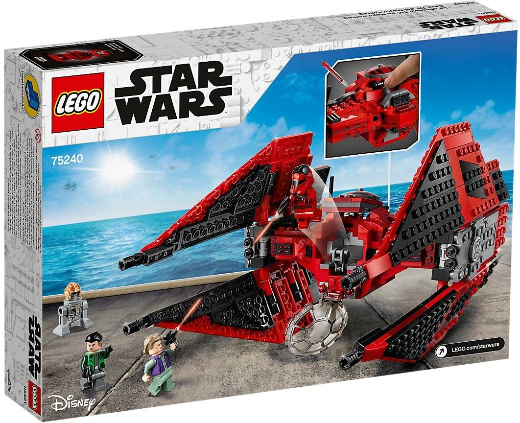 Конструктор Lego Star Wars - Major Vonreg's TIE Fighter (75240) - 5