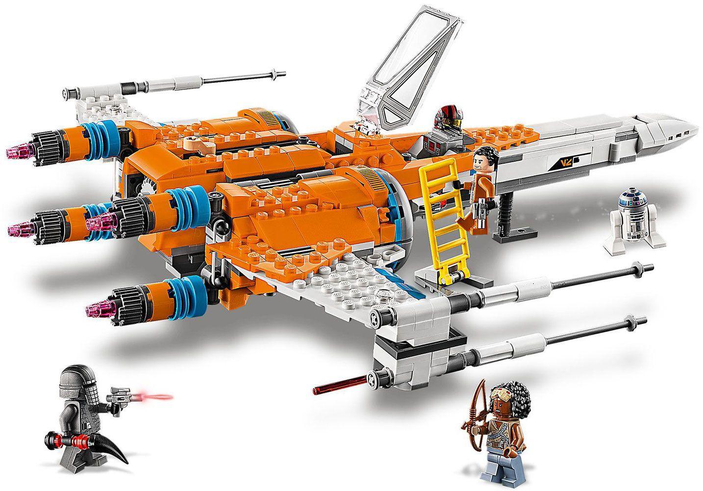 Конструктор Lego Star Wars - Poe Dameron's X-wing Fighter (75273) - 4