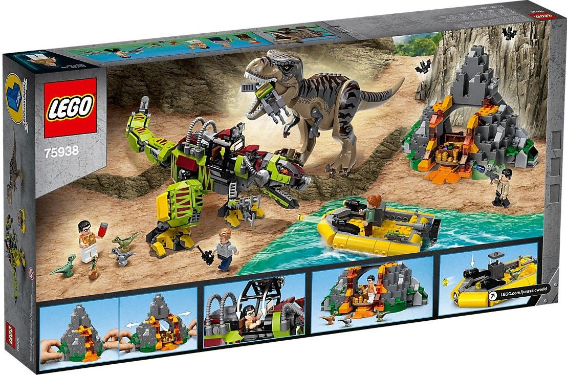 Конструктор Lego Jurassic World - T.Rex vs. Dino-Mech Battle (75938) - 5