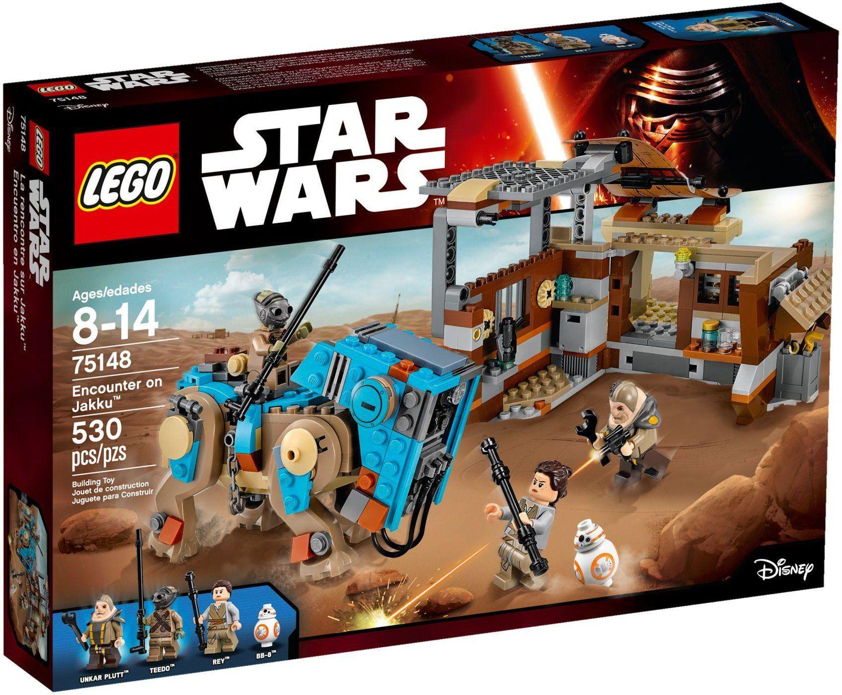 Конструктор Lego Star Wars TM - Сблъсъка на Жаку (75148) - 1