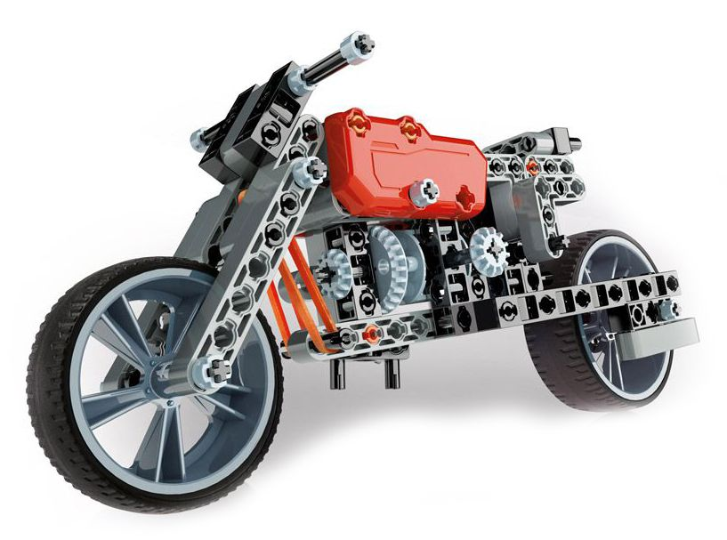 Конструктор Clementoni Mechanics Laboratory - Мотор, 130 части - 2