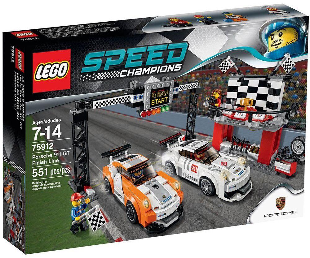 Lego Speed: Porsche 911 GT на финалната линия (75912) - 1