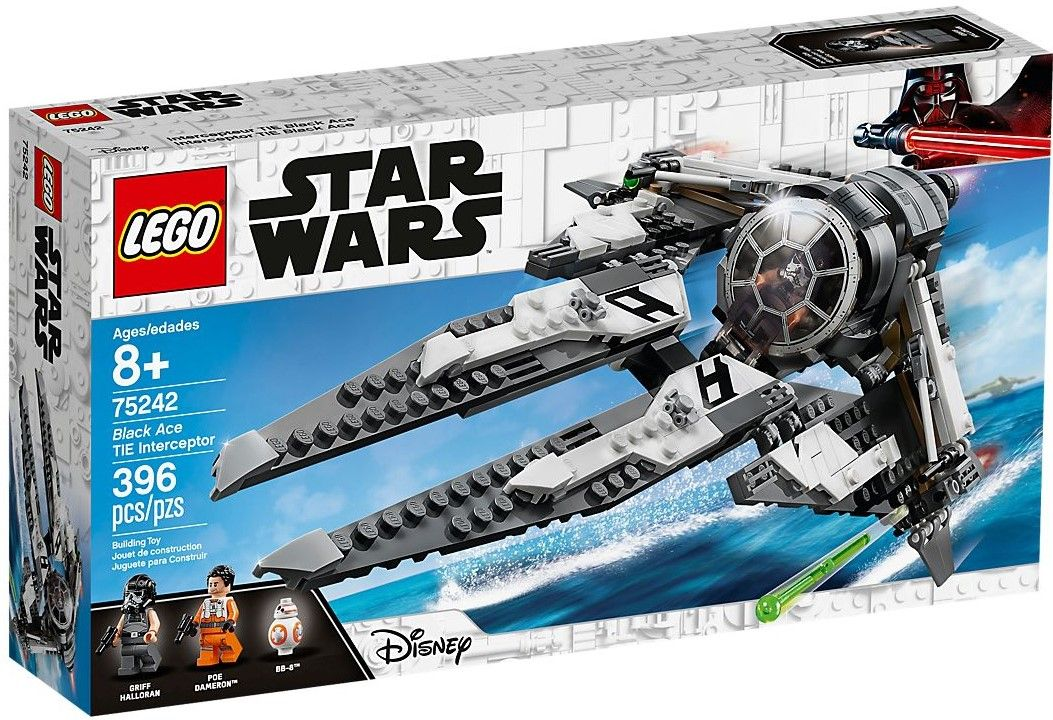 Конструктор Lego Star Wars - Black Ace TIE Interceptor (75242) - 1