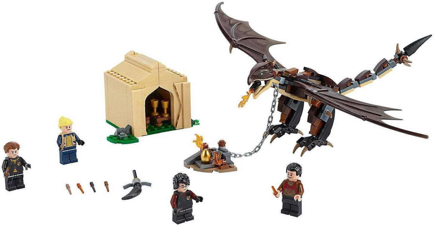 Конструктор Lego Harry Potter - Hungarian Horntail Triwizard Challenge (75946) - 2