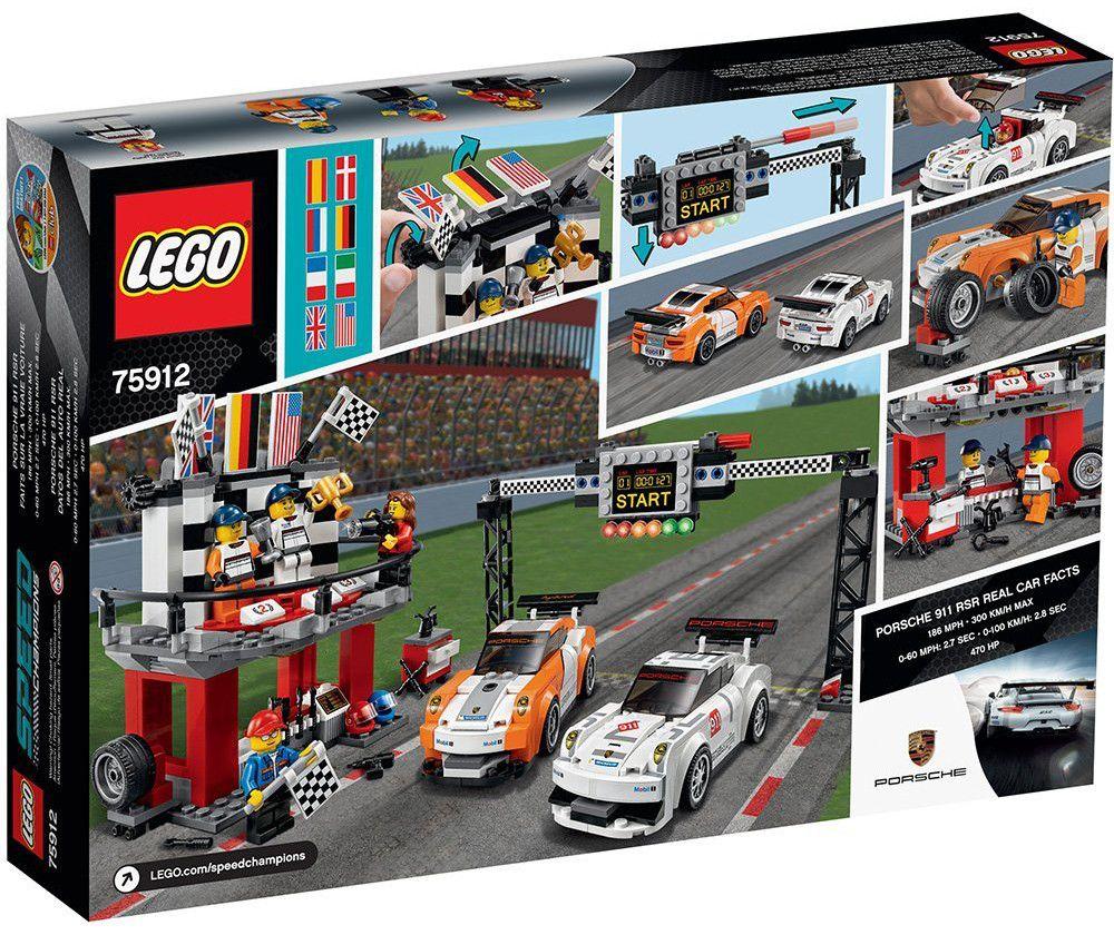 Lego Speed: Porsche 911 GT на финалната линия (75912) - 3
