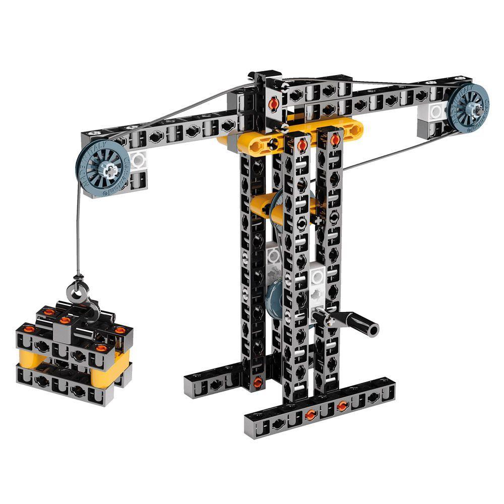 Конструктор Clementoni Mechanics Laboratory - Строителни машини, 250 части - 8