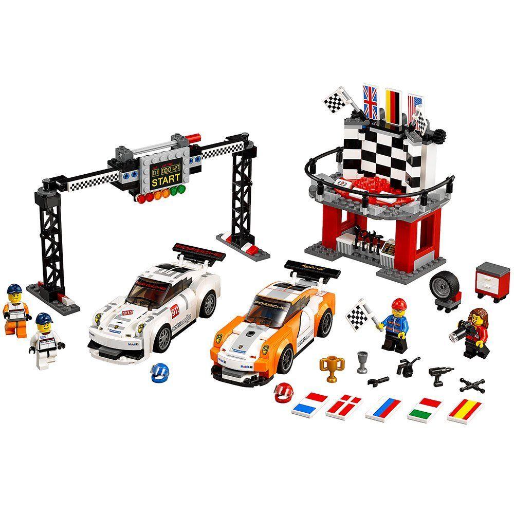 Lego Speed: Porsche 911 GT на финалната линия (75912) - 4