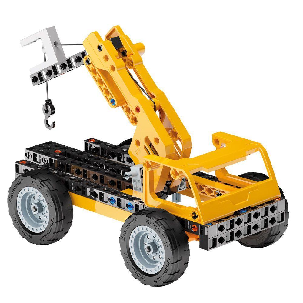 Конструктор Clementoni Mechanics Laboratory - Строителни машини, 250 части - 3