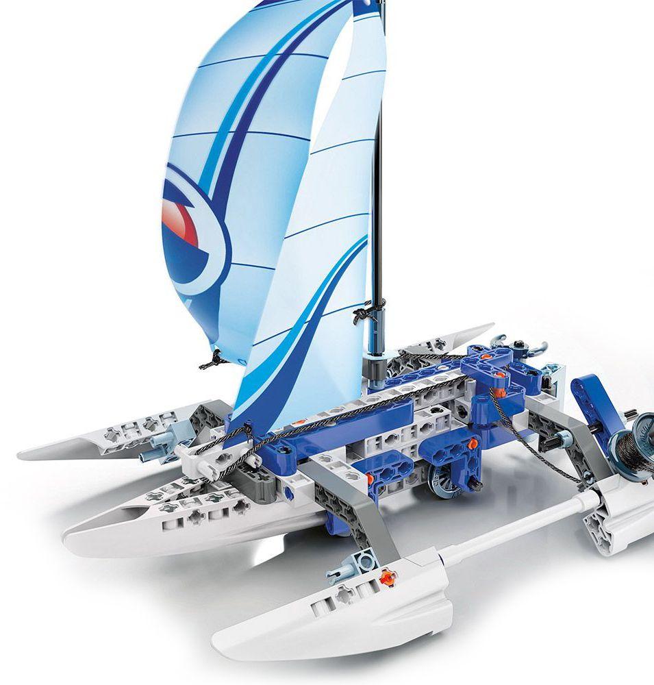 Конструктор Clementoni Mechanics Laboratory - Лодка, 130 части - 4