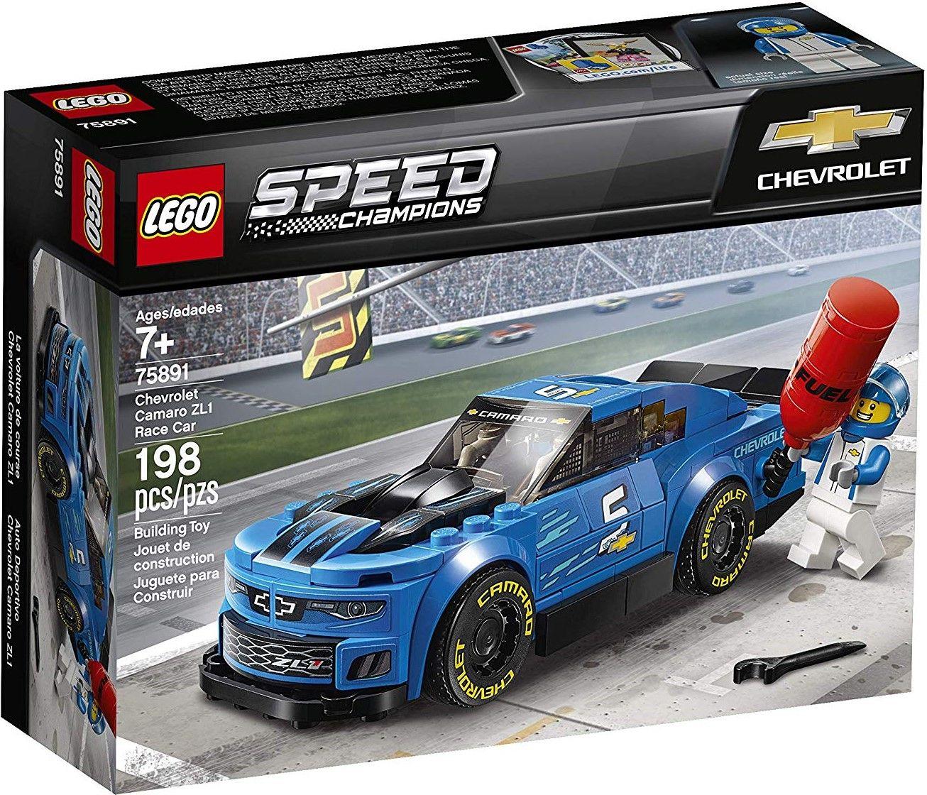 Конструктор Lego Speed Champions - Chevrolet Camaro ZL1 (75891) - 1