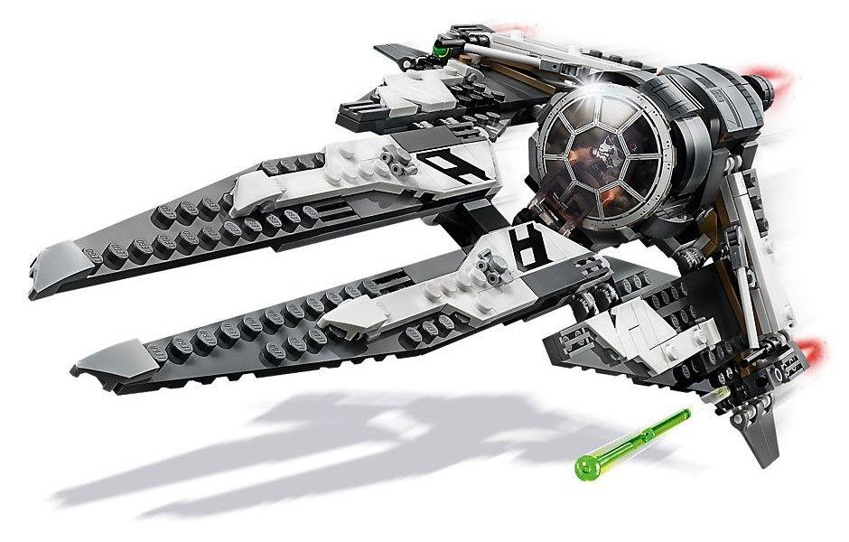 Конструктор Lego Star Wars - Black Ace TIE Interceptor (75242) - 2