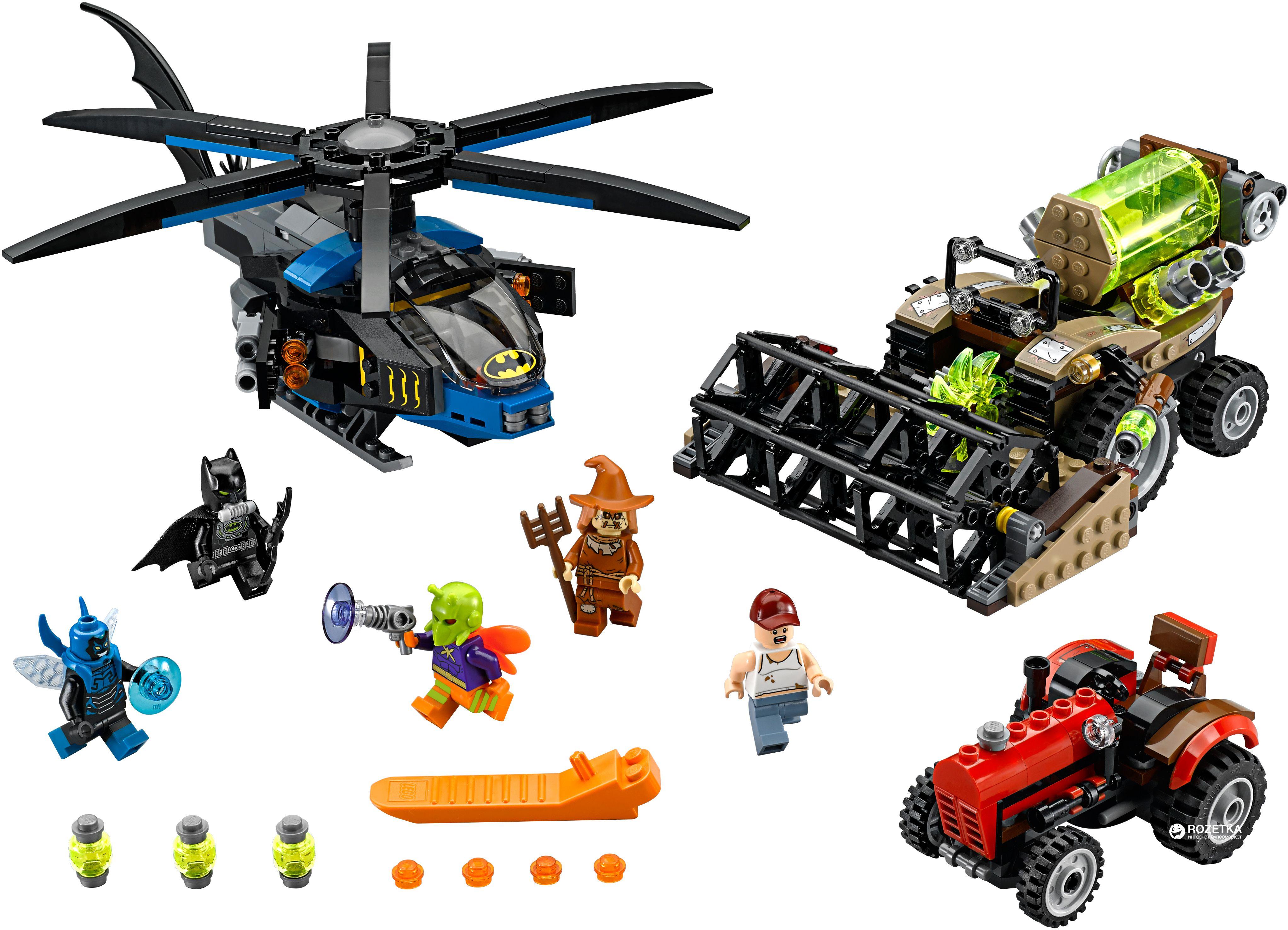 Конструктор Lego Super Heroes - Batman: Жътвата на Плашилото (76054) - 3