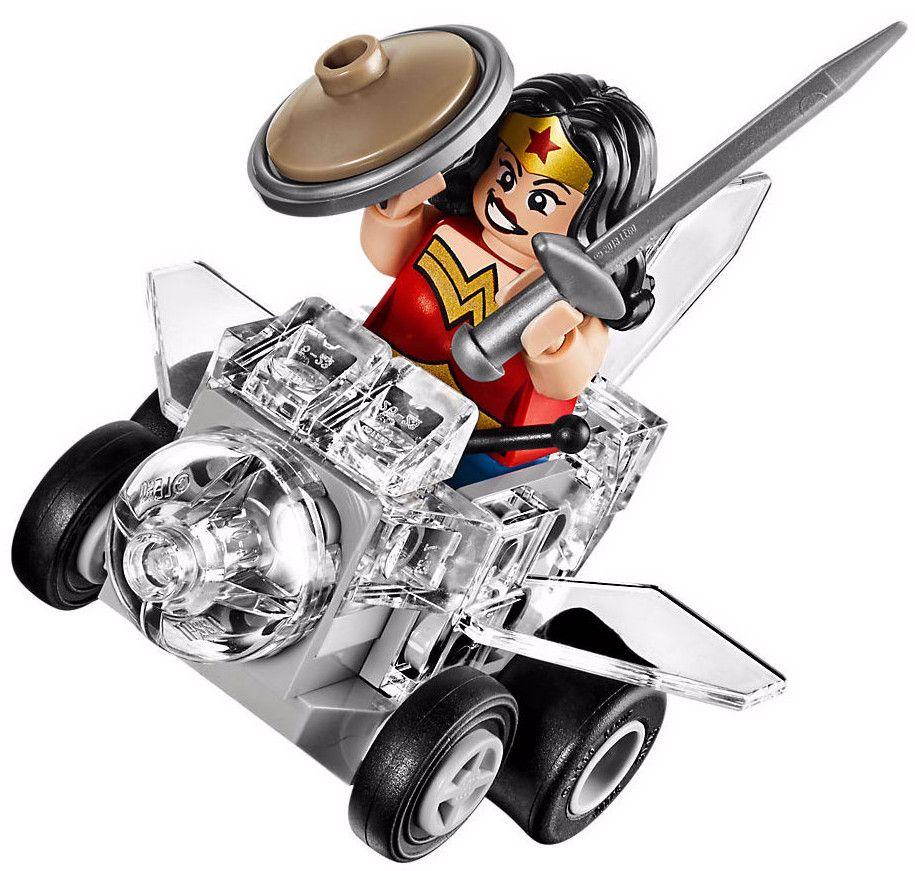 Конструктор Lego Super Heroes – Mighty Micros: Жената чудо™ срещу Думсдей™ (76070) - 3
