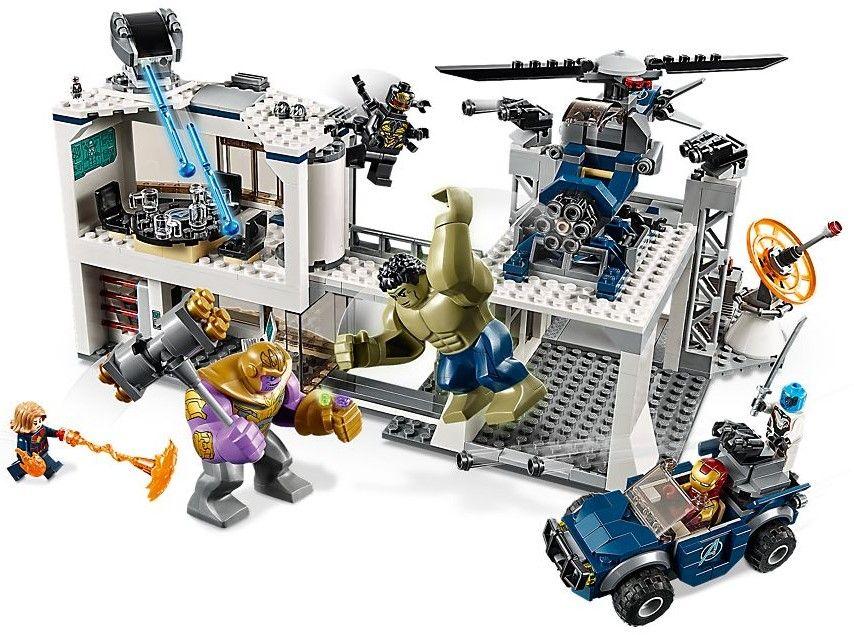 Конструктор Lego Marvel Super Heroes - Avengers Compound Battle (76131) - 2