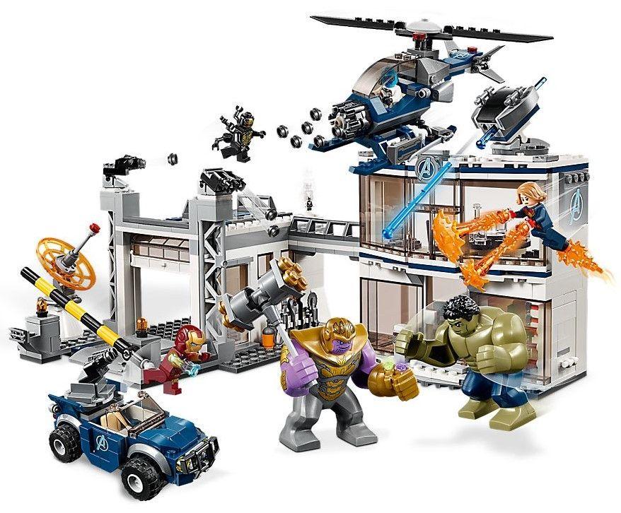Конструктор Lego Marvel Super Heroes - Avengers Compound Battle (76131) - 3