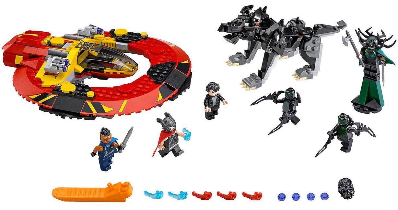 Конструктор Lego Marvel Super Heroes - Битката за Асгард (76084) - 2