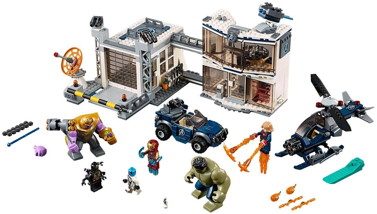Конструктор Lego Marvel Super Heroes - Avengers Compound Battle (76131) - 4