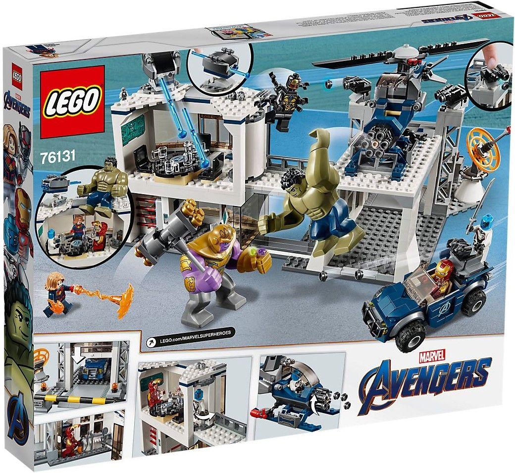Конструктор Lego Marvel Super Heroes - Avengers Compound Battle (76131) - 6