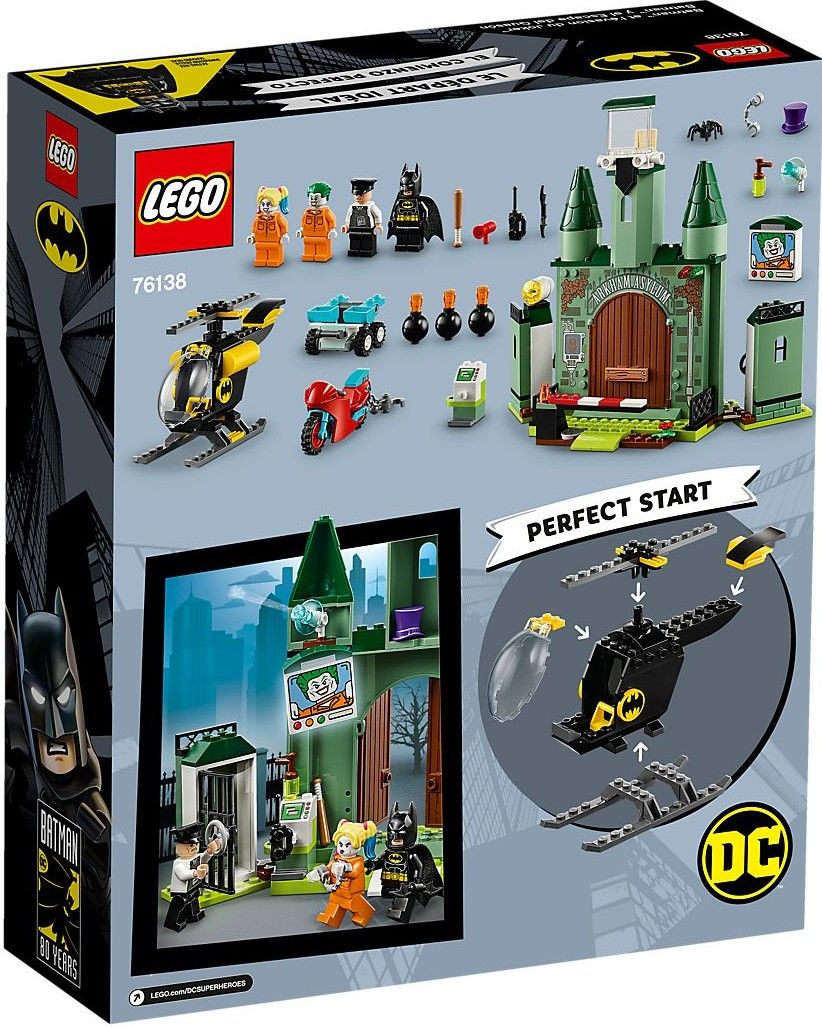 Конструктор Lego DC Super Heroes - Batman and The Joker Escape (76138) - 5