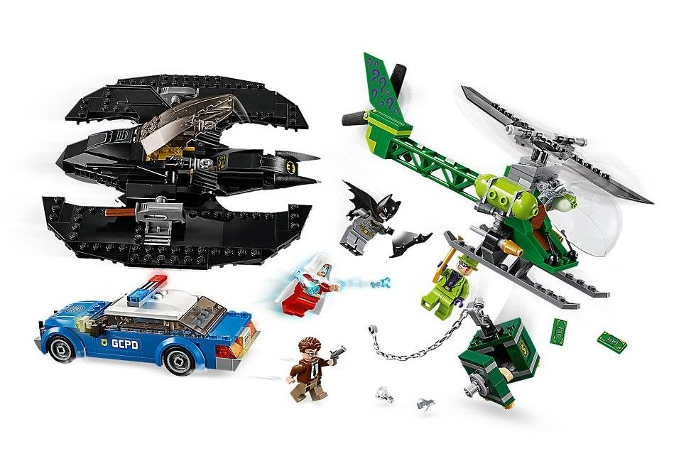 Конструктор Lego DC Super Heroes - Batman Batwing and The Riddler Heist (76120) - 3