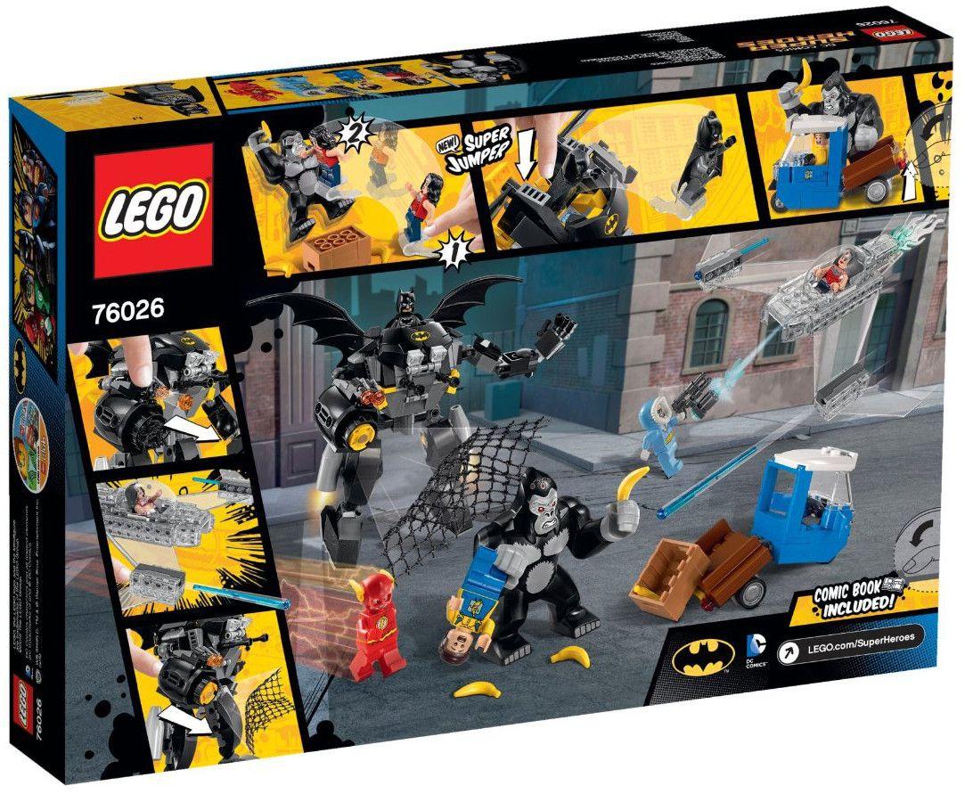 Lego Super Heroes: Горилата Грод полудява (76026) - 3