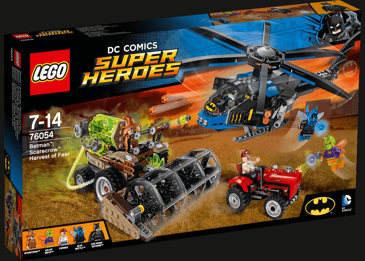 Конструктор Lego Super Heroes - Batman: Жътвата на Плашилото (76054) - 1