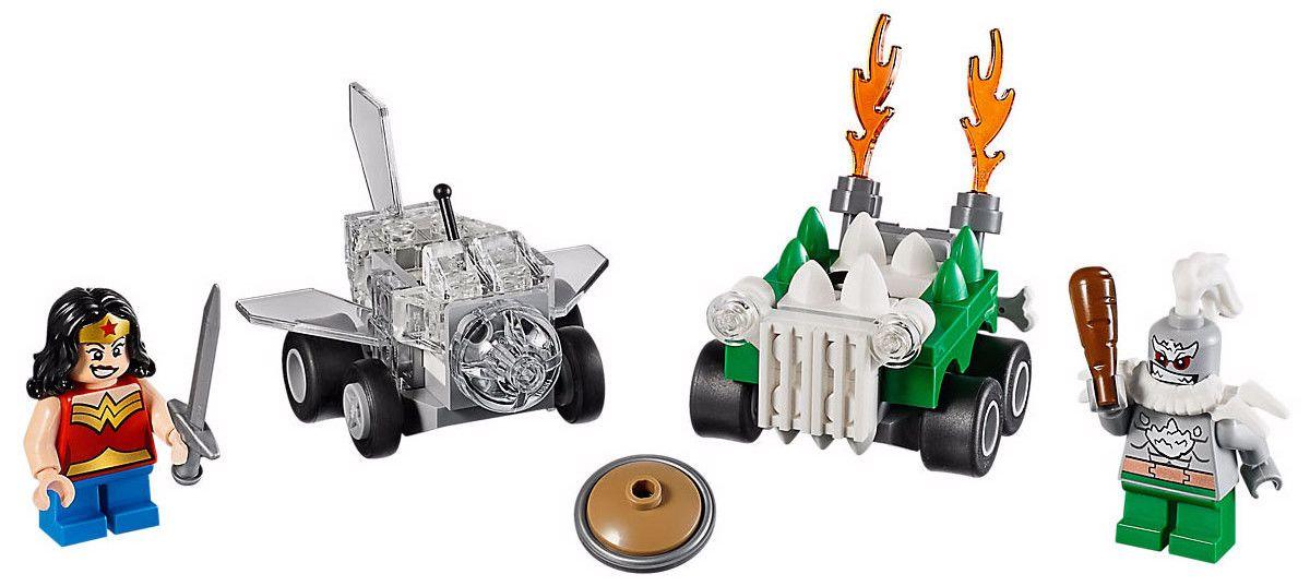 Конструктор Lego Super Heroes – Mighty Micros: Жената чудо™ срещу Думсдей™ (76070) - 2