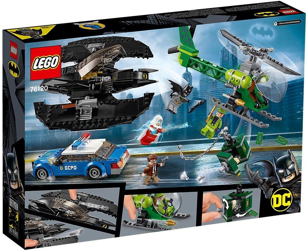 Конструктор Lego DC Super Heroes - Batman Batwing and The Riddler Heist (76120) - 5