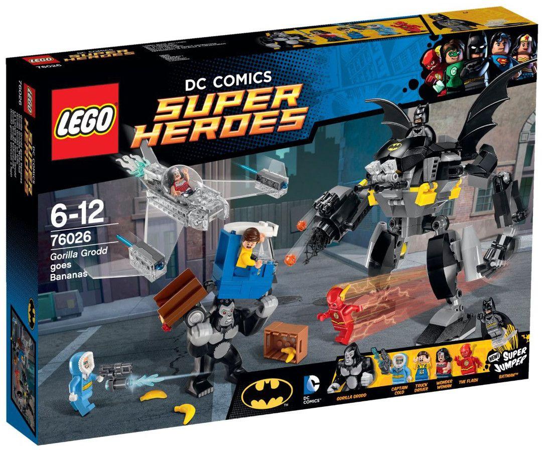 Lego Super Heroes: Горилата Грод полудява (76026) - 1