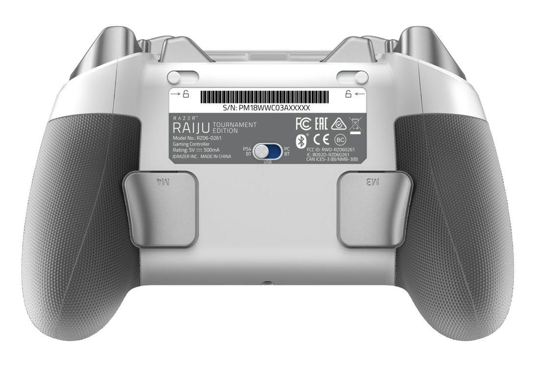 Геймпад Razer Raiju Tournament Edition - Mercury, за PS4/PC, v1.04 - 5
