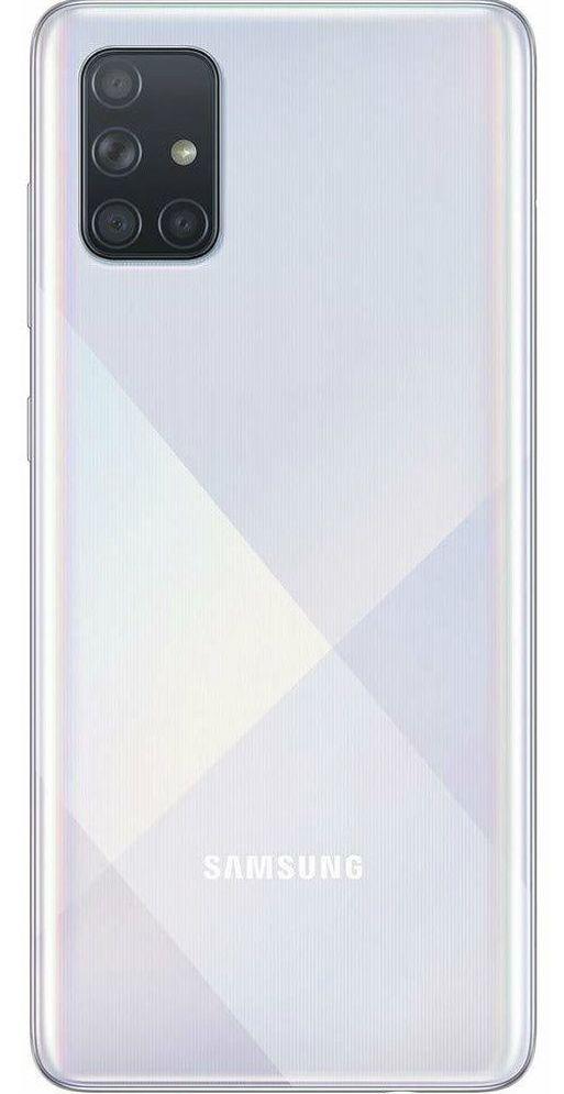 "Смартфон Samsung Galaxy A71 - 6.7"", 128GB, сребрист - 2"