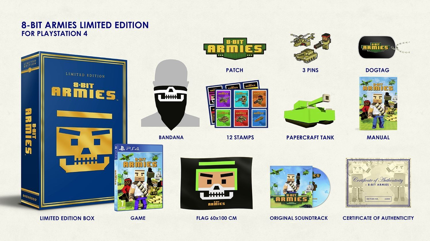 8-Bit Armies - Limited Edition (PS4) - 9