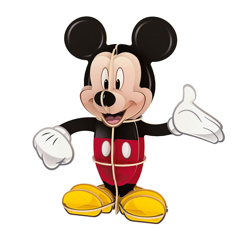 Пъзел Clementoni от 104 части и 3D модел - Мики Маус - 3
