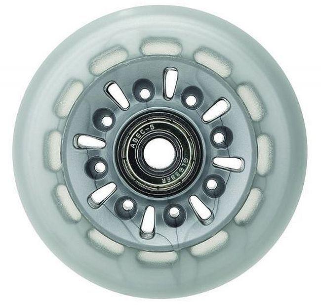 Комплект резервни колелца Globber - Elite, 2 броя, 8 cm (разопакован) - 1