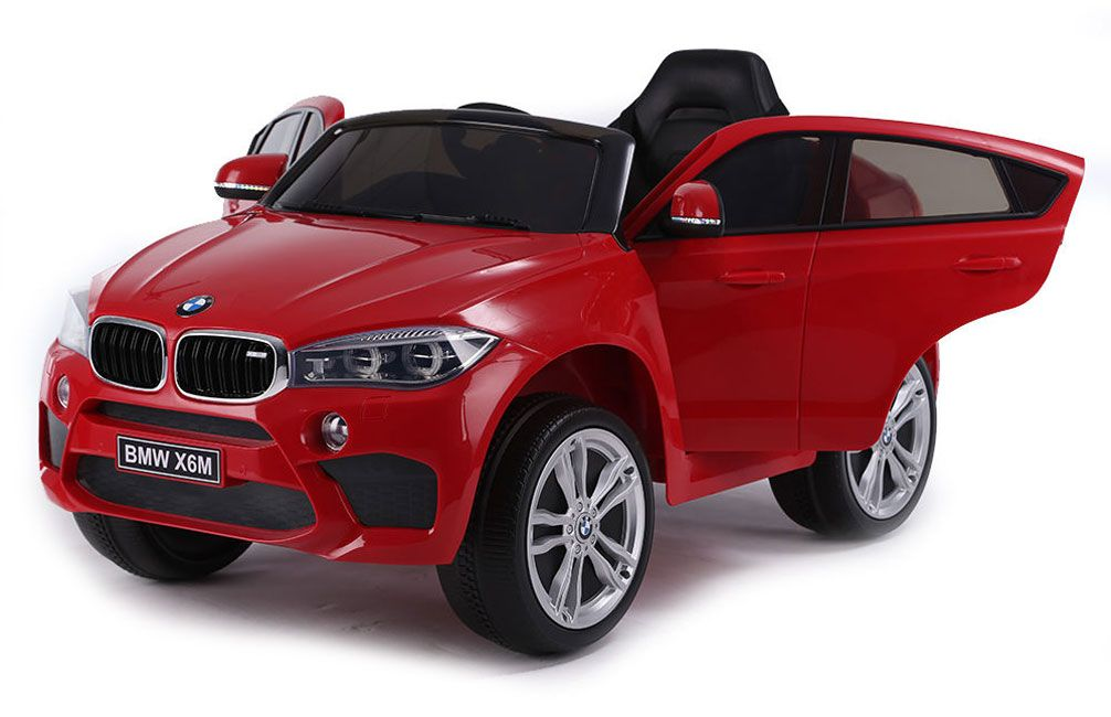 Акумулаторен джип Ocie - BMW X6M, червен - 2