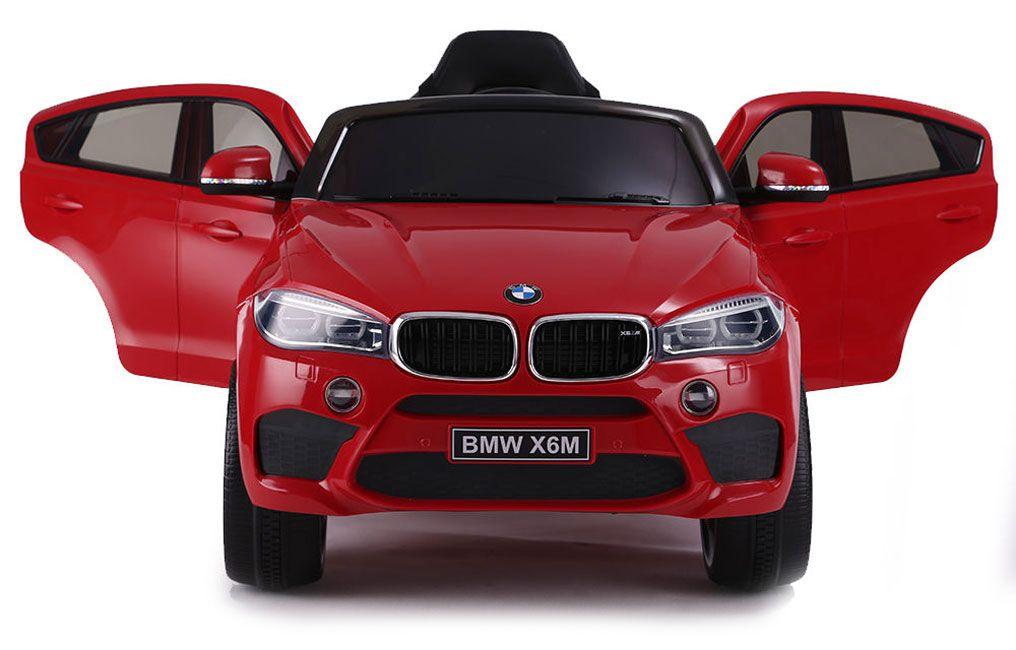 Акумулаторен джип Ocie - BMW X6M, червен - 3