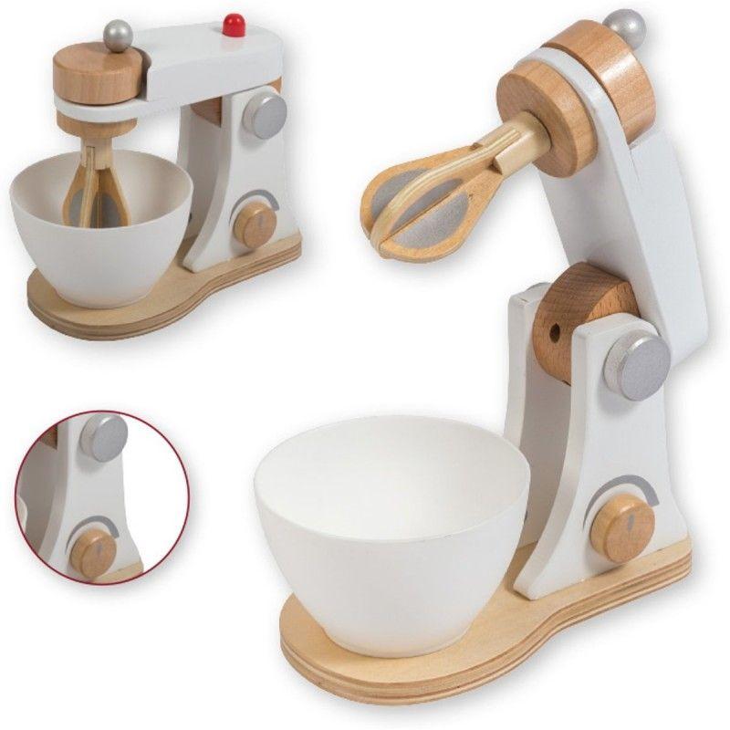 Дървен комплект за детска кухня Jouéco - Миксер - 3