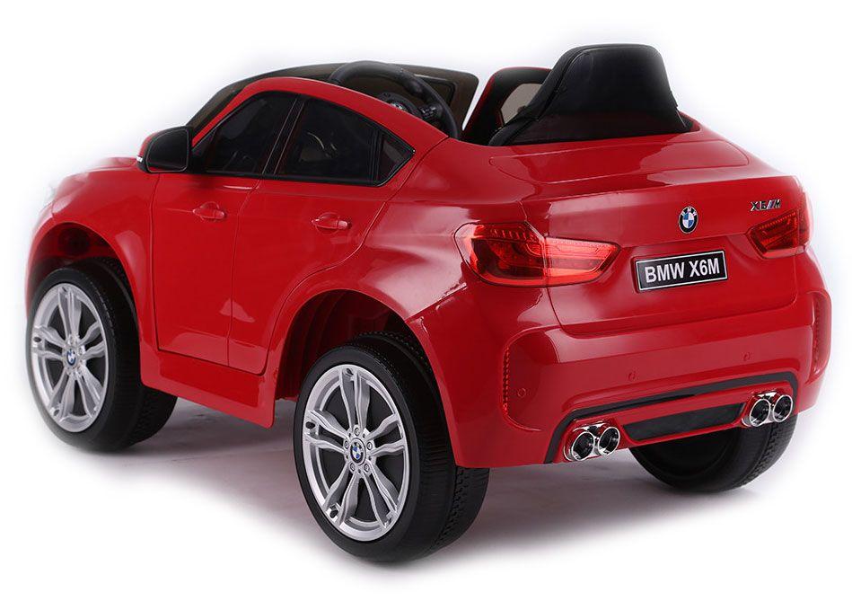 Акумулаторен джип Ocie - BMW X6M, червен - 5