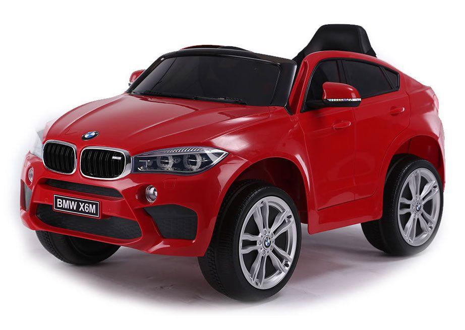 Акумулаторен джип Ocie - BMW X6M, червен - 1