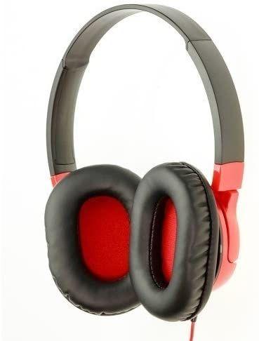 Слушалки Audio-Technica - ATH-AX1iS, червени - 4