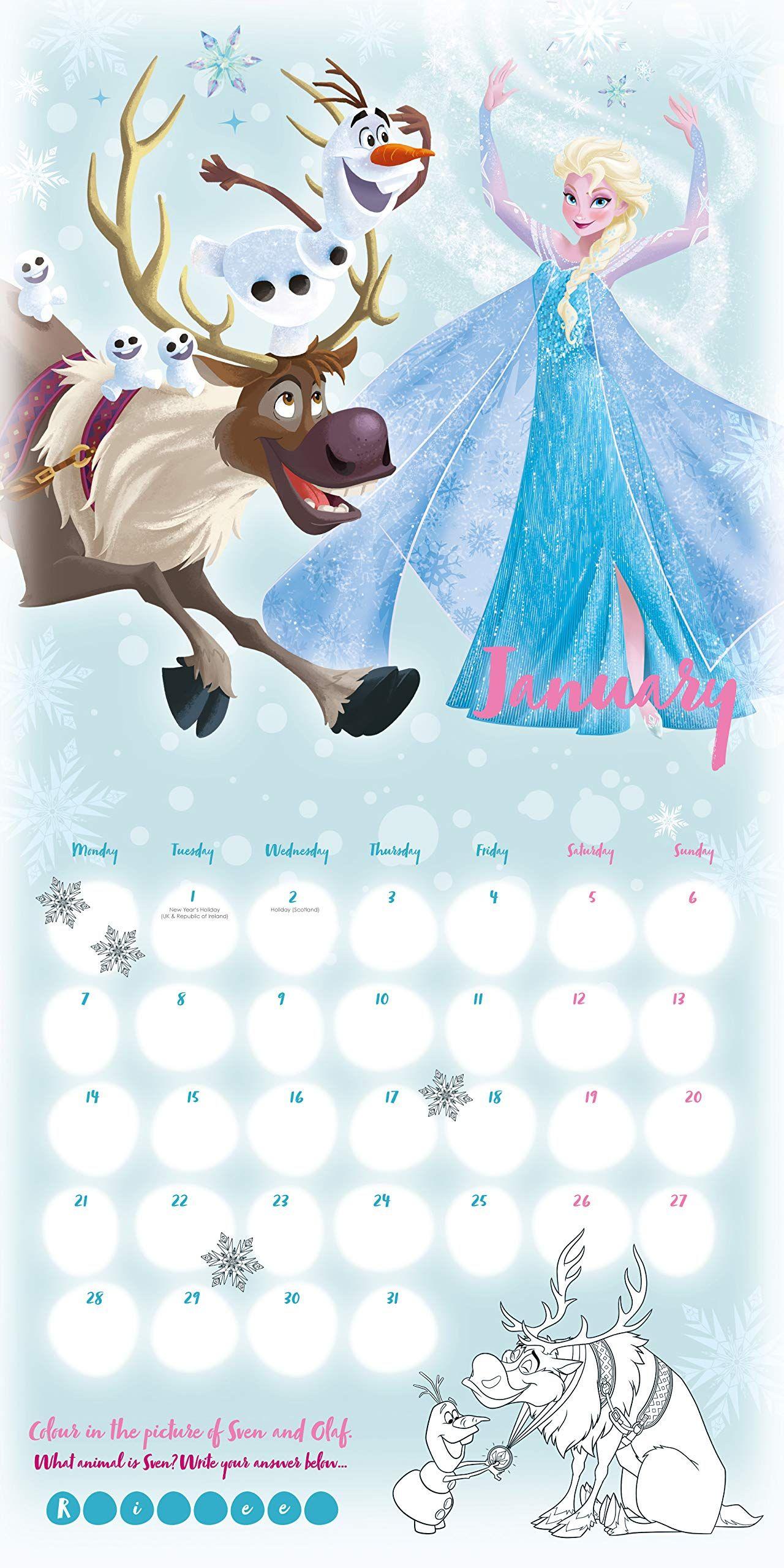 Стенен Календар Danilo 2019 - Disney Frozen Inc - 2