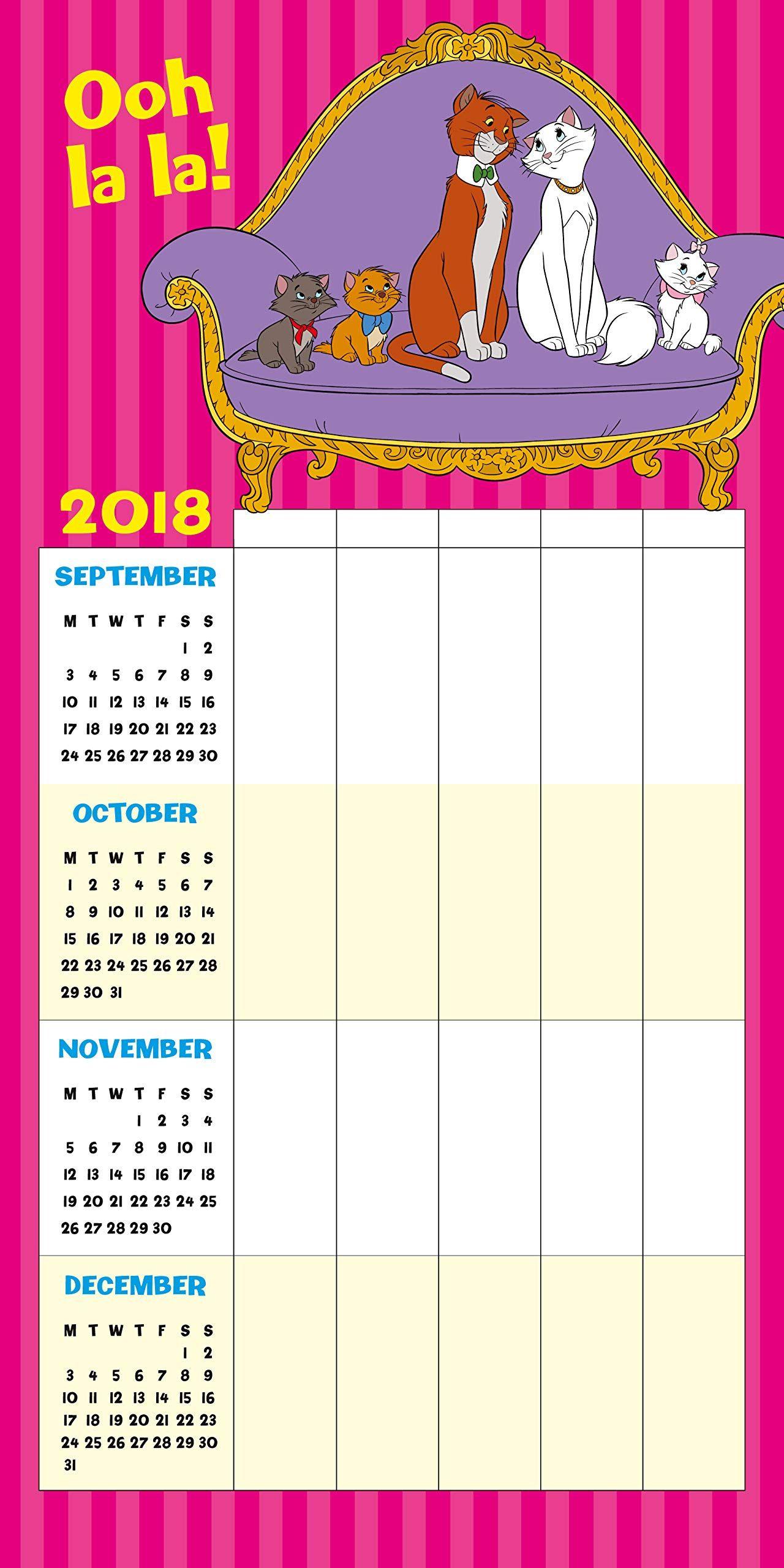 Стенен Календар Danilo 2019 - Disney Classic Moms Family - 2