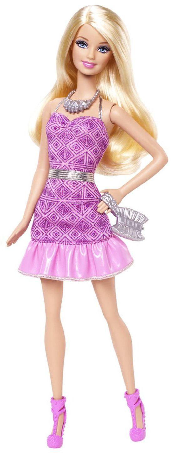 Барби с искряща рокля - 1