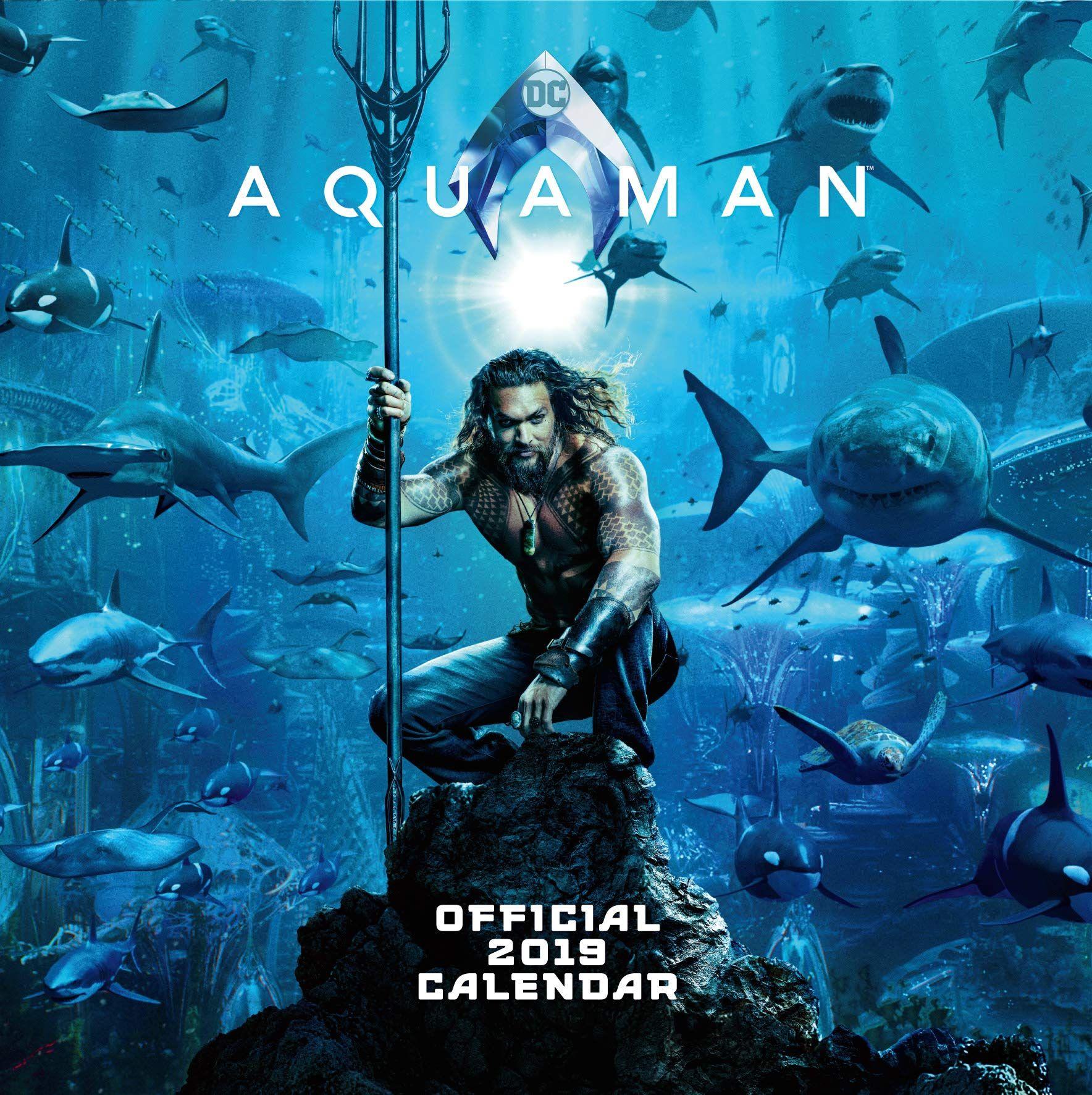 Стенен Календар Danilo 2019 - Justice League: Aquaman - 1