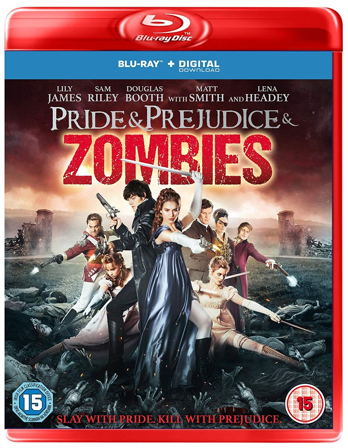 Pride & Prejudice & Zombies (Blu-Ray) - 1