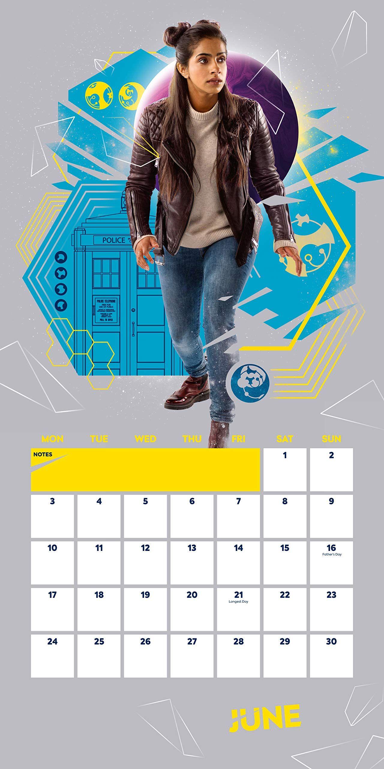 Стенен Календар Danilo 2019 - Doctor Who - 3